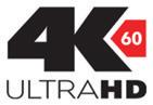 4K60 Ultra HD logo